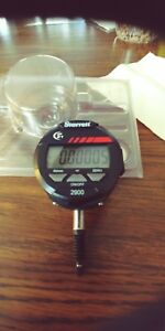Electronic Indicator 0 5 12mm Range Starrett 2900 1