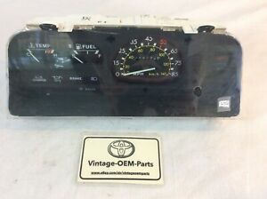 Speedometer Gauge Cluster Only 39k Miles 79 83 Toyota Pickup 20r 22r Man Trans
