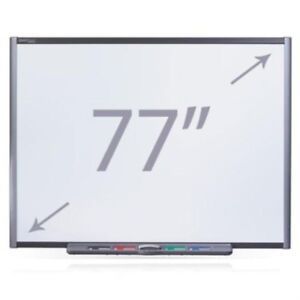 Smart Board Lot Qty 6 Sb680 77 Diagonal Size Electronic Whiteboard