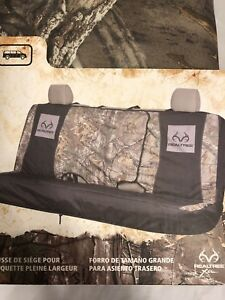 Spg Bench Realtree Camo Seat Cover