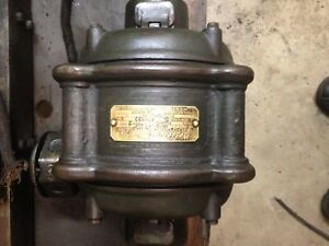 Vintage General Electric 3 phase Induction Motor 2hp 220v 60hz