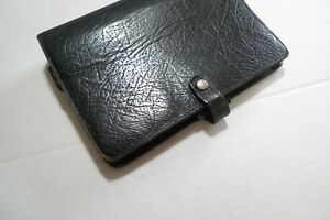 Filofax Leather Planner Vintage With A Few Inserts Made In England