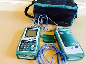 Fluke Microtest Omni Scanner Omniscanner Remote Cat 5 Channel Adapters Analyzer