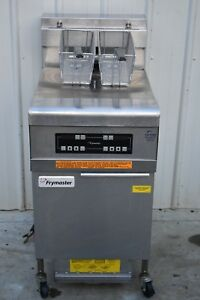 2014 Frymaster 11814efcse 60lb Electric Fryer With Filtration System