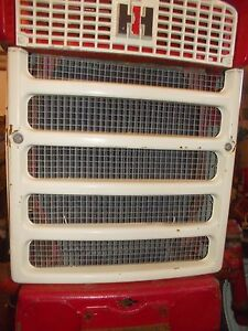 International 340 Utility Tractor Ih Ihc Front Nose Cone Bar Grill W Screen