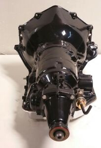 Turbo 350 Performance Transmission With Stage 3 Valve Body Short Tail 6 Inch