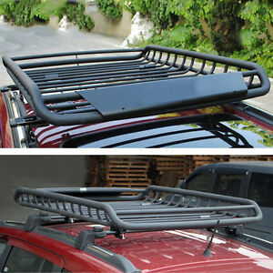 Past Universal Cargo Basket Roof Rack For Jeep Grand Cherokee Compass Patriot