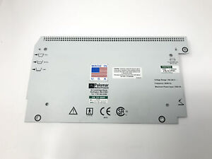 Palomar Aspire Laser Rear Exterior Vented Labeled Housing Cover Panel 1521 0039