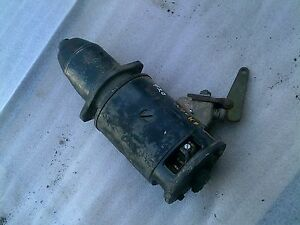 John Deere 420 W Late Model Tractor Jd Engine Motor 6v Working Starter Assembly