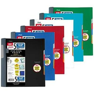 Five Star Advance Spiral Notebook standard Size 5 Subject College Ruled 8 5 X