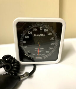 Welch Allyn 767 Wall Aneroid Sphygmomanometer W Reusable Cuff