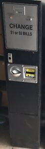 Rowe Bc 12 Bill Changer With Mars Bill Acceptor Coins Or Tokens