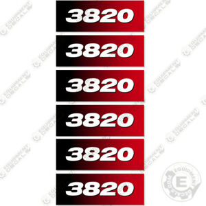 Imt Crane Decals 3820 Series Decals set Of 6 2007