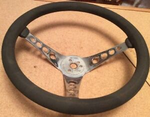 Vintage Steering Wheel The 500 Superior Performance Hot Rod Rat Rod Dune Buggy