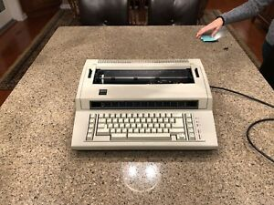 Ibm Electric Actionwriter 1 Electronic Typewriter cover 6715 001 Tested Working