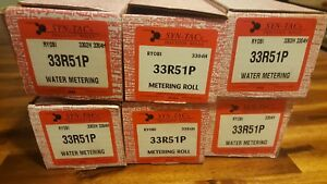 Lot Of 6 Ryobi 3302h 3304h Ha Metering Roller 33r51p Syntac 5344 53 330