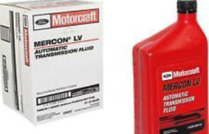 Motorcraft Mercon Lv Automatic Transmission Fluid Atf 12 Quart Case