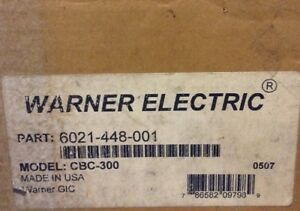 Warner Electric Clutch Brake Current Control Cbc 300 Pn 6021 448 001