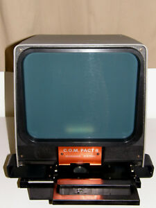 Microfiche Reader New Old Stock Gakken C o m Pact Ii Working
