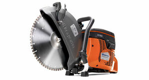 Husqvarna 14 K760 Power Cutter Concrete K Saw Gas Diamond Blade