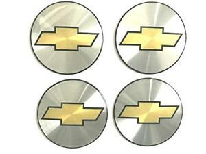 4 New Wheel Center Cap Logo Sticker Decal Emblem 3 5 88mm Chevy Chevrolet Domed