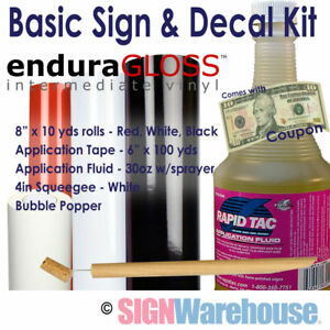Sign Decal Starter Kit For Vinyl Plotters Cutters Vinly Machine Signwarehouse