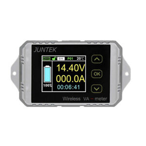 Wireless Dc Voltage Ammeter Power Meter Battery Capacity Monitoring Coulombmeter