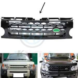 New Black Front Grille Grid Replace Trim J For Land Rover Discovery Lr3 2005 09