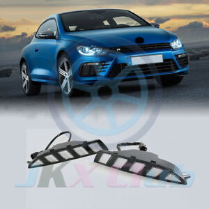 Led Daytime Running Light Drl W turning Signal J For Volkswagen Scirocco R 10 14