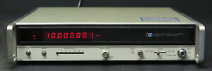 Hp Keysight 5340a Microwave Frequency Counter 10hz 23ghz Led Version Tested