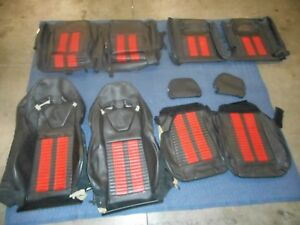 2011 2012 2013 2014 Ford Mustang Shelby Gt500 Recaro Leather Seat Covers Oem