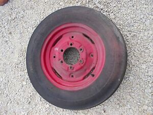 Farmall 340 Tractor Pair Front Rims 5 00x15 Tire Tires Ih Rim Rims Ready T Use