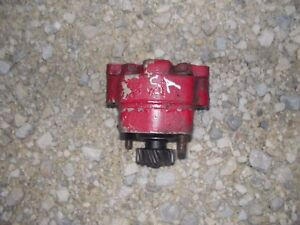 Farmall Super A Sa Tractor Ihc Ih Good Working Hydraulic Pump Assembly