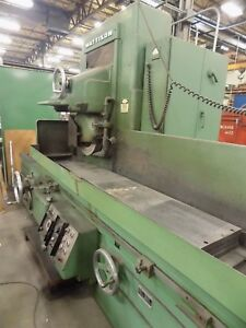 Mattison 14 X 72 Surface Grinder Wet Type With Magnetic Chuck Video Avail