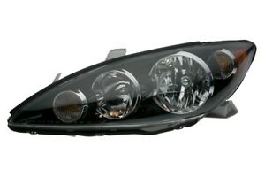 New Left Headlamp Light Assembly Halogen Fits 2005 2006 Toyota Camry To2502156