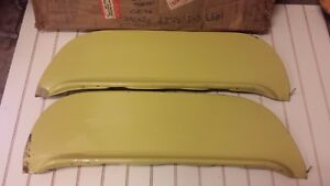 Nos 1953 Chevrolet Overlay Fender Skirts New In Vintage Box 53 Chevy Belair