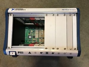 National Instruments Pxie 1062q 8 slot Pxi Express Chassis