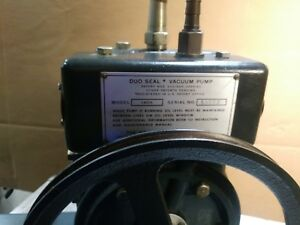 used Welch Duo seal Vacuum Pump Model 1402 pump Only