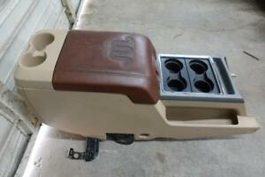 2011 2016 Ford F250 F350 Oem Tan King Ranch Center Console Complete Lariat Used