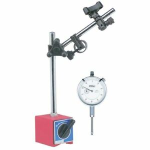 Fowler 19191 1 agd Dial Indicator Magnetic Base Combo W Free 11pc Point Set