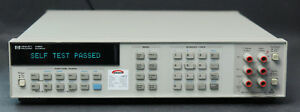 Hp Keysight 3458a 8 5 Digit Multimeter Calibrated With Data