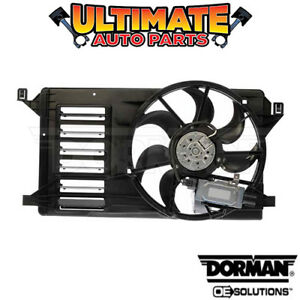 Radiator Cooling Fan 2 3l Turbo W Controller For 10 13 Mazda 3