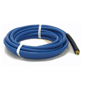 4000psi Blue Carpet Tile Cleaning Hose 50ft X 1 4in Id Single Wire Non Marking