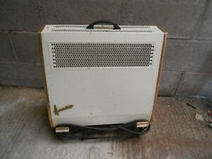 Vintage Rare Untested 1950s Electric Heater Retro By Aerialite Electric Mains