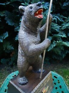 Antique Black Forest Carved Wood Bear Wood Carving Swiss Brienz