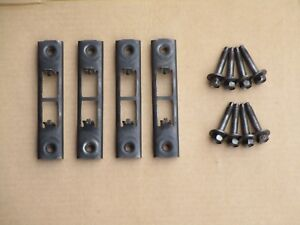 90 93 Mustang Front Bumper Mounting Brackets Bolts Oem Cobra Saleen Ssp Coupe