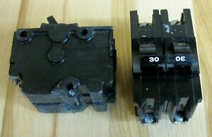 Federal Pacific Fpe 30a 30 Amp 2 Or Double Pole Type Nb Bolt On Breaker Nb230