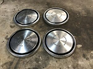 Ford Courier Oem Ford Motor Company Hub Caps Dog Dish Rare Vintage