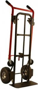 Milwaukee Dolly Hand Truck 800 Lbs Load Capacity All purpose Convertible Steel
