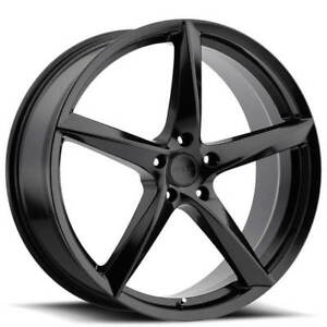 18 Mkw Wheels M120 Satin Black Rims Fs